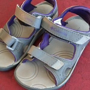 New Columbia child sandals